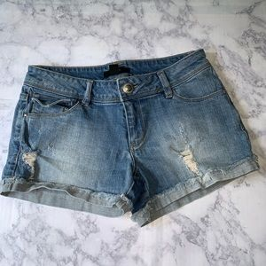 New! F21 Ripped Shorts